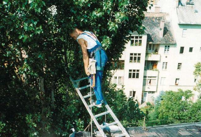 Gallyazás alpintechnikával